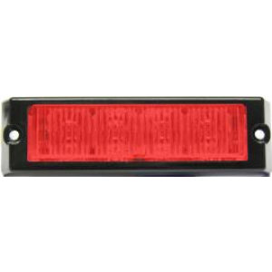 Stroboscoop 12/24v Red 4 led