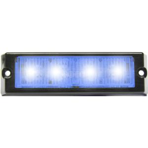 Kippenlamp LED blauw 12v