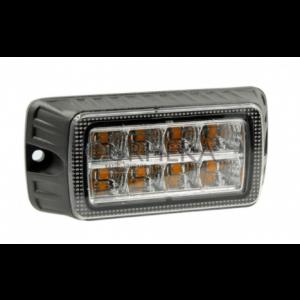 Stroboscoop 12/24v Amber 8 LED