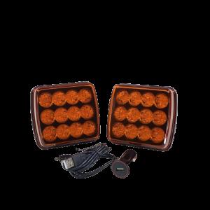 Stroboscoop set draadloos (in koffer)