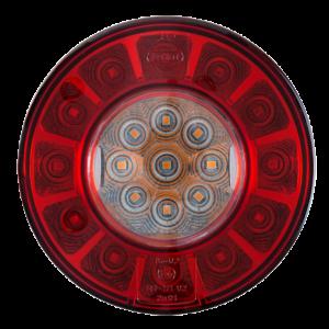 Achterlicht LED 3 functie 103mm 12/24V
