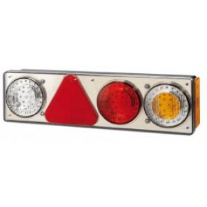Achterlicht LED rechts 3 lamp+reflector 12v