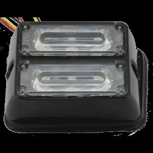 Stroboscoop 12/24v amber/blauw 6 led Extreme LED211