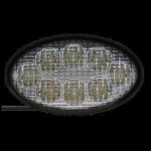 LED werklamp ovaal 40w 12/24v