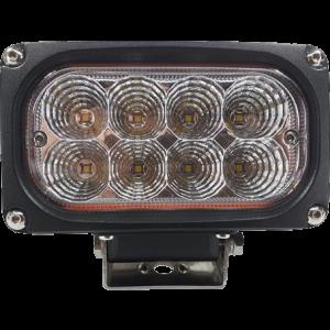 LED werklamp rechthoek 40w 12/24v