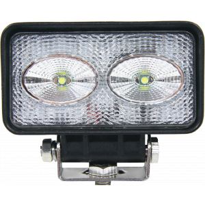 LED werklamp 2x10W 10-30v(11x6x55cm) 2mtr.
