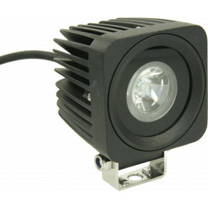 LED werklamp spotbeam 10W 10-30V 10 graden