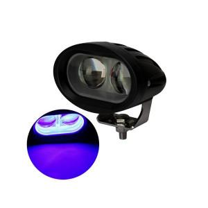LED Blue Spot lamp 10-60v 2x10 Watt
