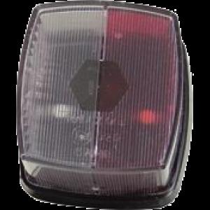 Markerings-breedtelamp rood/wit Radex 901