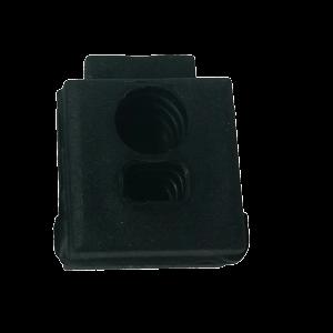 Aspock kabeldoorvoer 1xrond,1xhoekig 15-5097-507