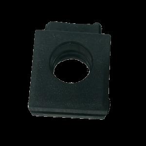 Aspock kabeldoorvoer rond open 8 mm
