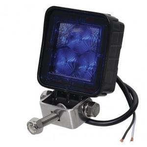 LED werklamp BLAUW kippenlamp