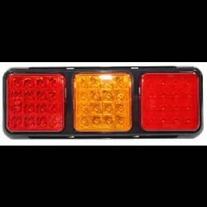 Achterlicht LED 4-functies incl. mistlicht 12/24v