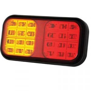 LED Achterlicht 12/24v (40cm kabel)