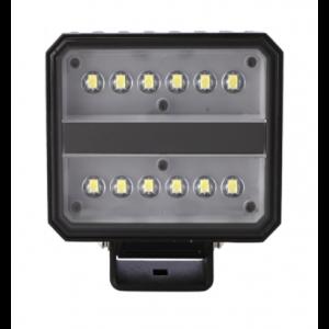 LED Werklamp vierkant 60w 12/24V