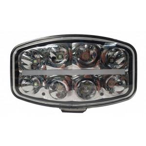 LED verstraler + pos. midden 12/24V