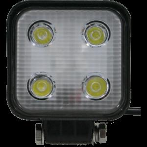 LED werklamp 12W 4 leds 10-100V
