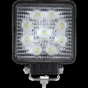 LED werklamp 27W 9 leds 10-100V