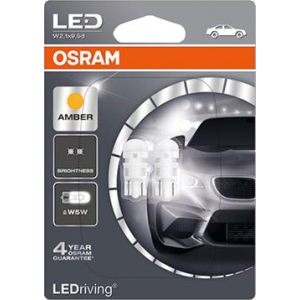 LED Osram 12V 5W oranje (2 stuks)