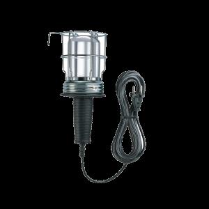 Looplamp halve kap 220v metaal