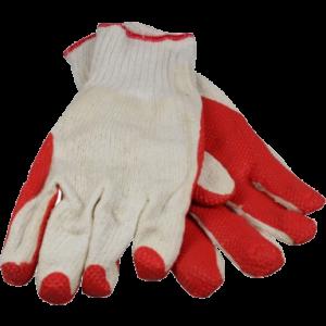 Werkhandschoenen Rood gebreid