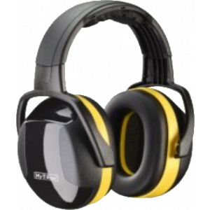 Gehoorbeschermer geel hoofdband My-T-Gear