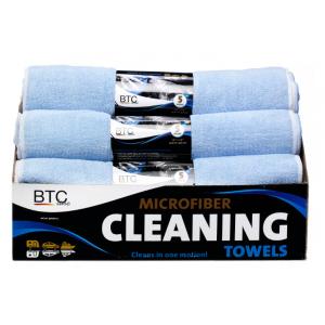 BTC Microvezel doeken (bundel 5 stuks)