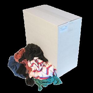 Dikke en dunne tricot lappen voor olie 10kg.