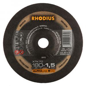 Doorslijp schijf 180x1,6mm RHODIUS