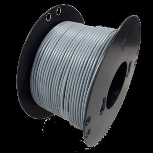 Kabel 1,5 grijs 100m haspel