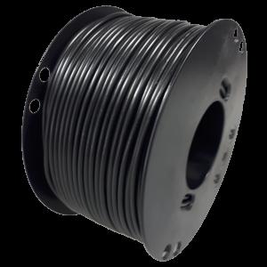 Kabel 4,0mmq zwart 50m haspel
