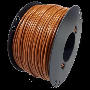 Kabel 1,5 bruin 100m haspel
