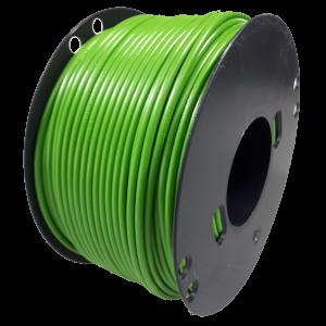 Kabel 2,5 groen 100m haspel