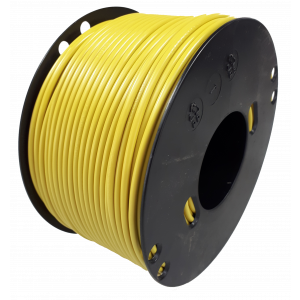 Kabel 2,5 geel 100m haspel