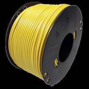 Kabel 1,5 geel 100m haspel