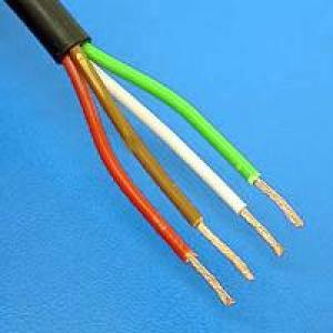 Kabel 4x1,5 rond 50m haspel