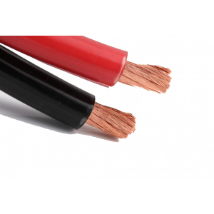 Twin kabel 2x4mmq rood/zwart