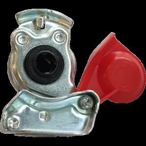 Luchtkoppeling rood gesloten M16 (truckers zijde)