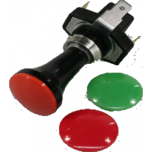 Trekschakelaar rood/groen/oranje (BA7S)