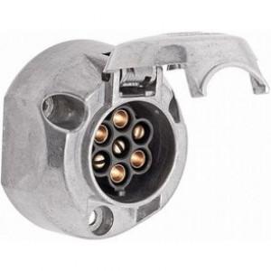 Stekkerdoos 7-polig metaal Hella 8JB 001 941-002