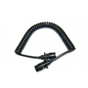 Spiraalkabel 7-polig stekker/stekker