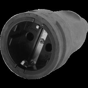 Contra stekker rubber 220v
