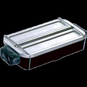 Verbindingsdoos metalen deksel 6-polig