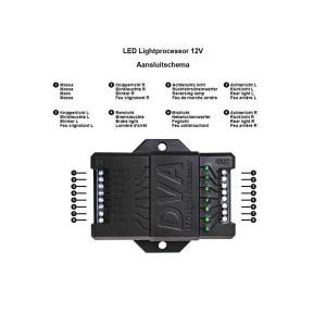 LED Light processor 12V