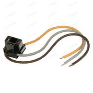 Koplampstekker H4 3-pol. met kabel