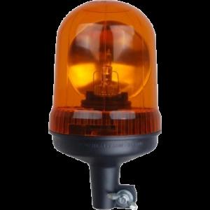Zwaailamp 12V, H1, amber