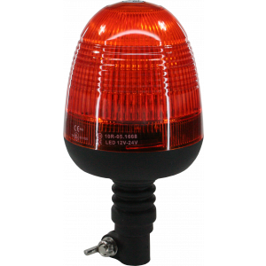 LED zwaai/flitslamp 12/24V, flexibele voet
