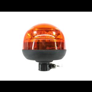 LED zwaai/flitslamp 12/24v, kort, flexibele voet