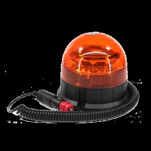 LED zwaai/flitslamp 12 /24 v, kort, magneet voet