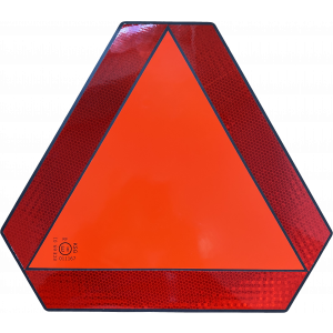 Langzaam verkeer bord magneet KSG E-keur